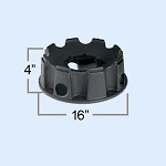 FLEXCON FL SERIES TANK BASE EXTENSION PLASTIC